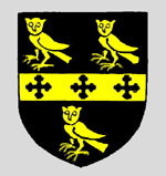 The Pym family coat of arms