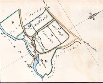 Castle Mill on a map of 1820 [R1-32]