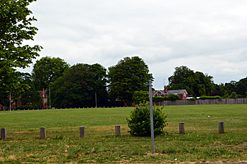 Goldington Green from the south June 2017