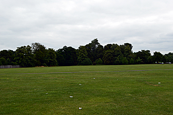 Goldington Green from the west June 2017