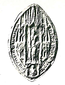 Newnham Priory seal