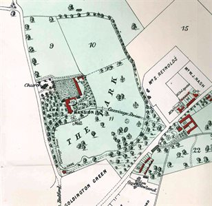 Plan of Goldington Bury [ST382]