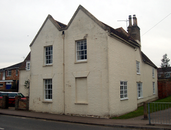 20 High Street from the road March 2010