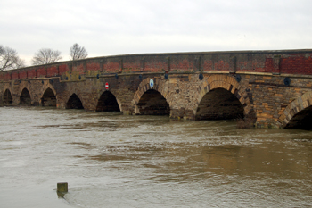 Great Barford Bridge March 2010