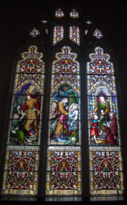 The chancel east window May 2010