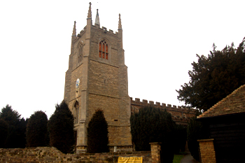 The church from the south-west March 2010