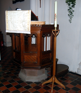The pulpit May 2010
