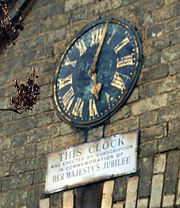 The old school clock February 2011