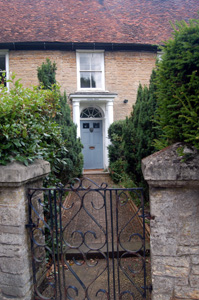 Entrance to Quintin House July 2008