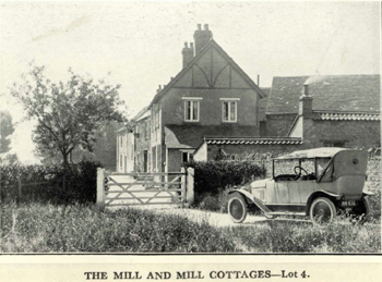 Mill Cottages in 1925