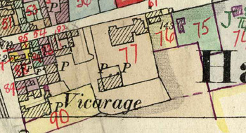 Valuers Map showing Convalescent Home complex
