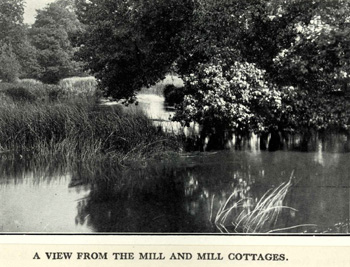A view from the mill in 1925