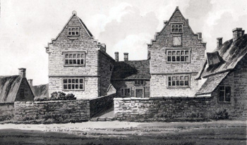 The Old Manor about 1820