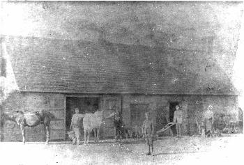 The Old Smithy in the late 19th century