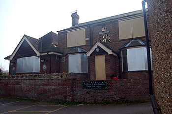 The former Gate Public House March 2011