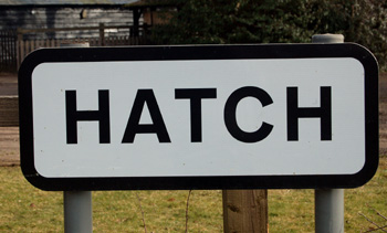 Hatch sign March 2010