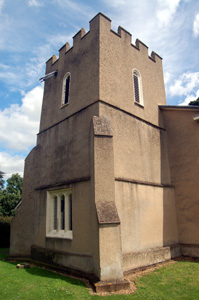 Church tower from the south-west June 2008