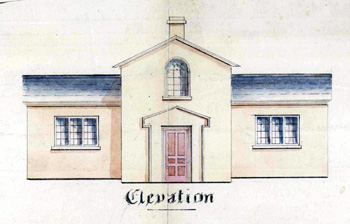 Elevation of Heath School 1845