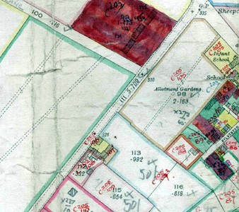 Emu Farm shown on 1927 valuation map numbered 106 and 107