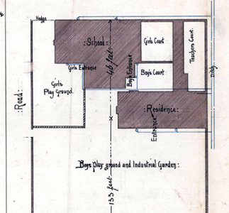 Heath School site layout plan 1862 AD3865-19-2