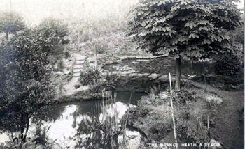 Pond at The Grange about 1920