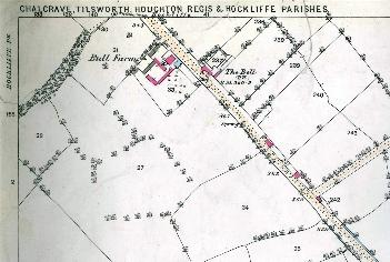 The south of the village in 1882