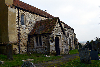 The south porch February 2013