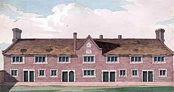 Almshouses and school [X254-88-145]