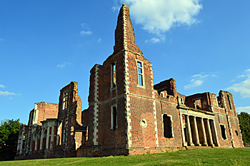 Houghton House north front and west side August 2016