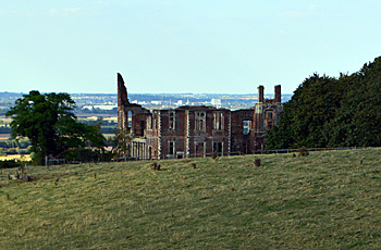 Houghton House seen from the south August 2016