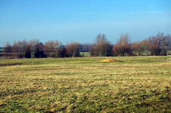 Countryside looking towards Salford January 2011