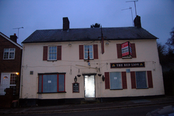 The former Red Lion January 2010