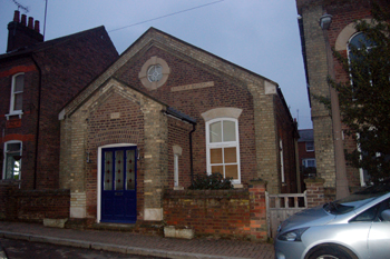 The former Wesleyan Methodist Sunday School in Albert Street January 2010