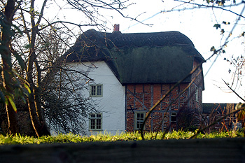 Crawley Park Farmhouse January 2012