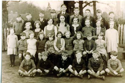 Husborne Crawley School group about 1930