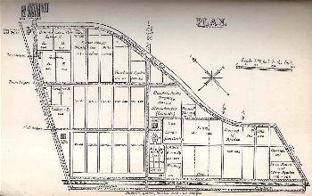 The layout of the Fruit Farm in 1897