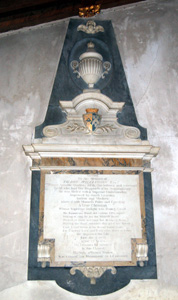 The monument of Talbot Williamson January 2011