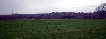 View towards the site of Crawley Manor January 2012