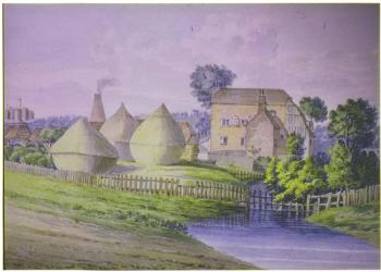 The watermill and clay mills about 1800 [Z49/656]