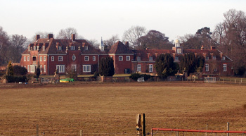 Ickwell Bury from Warden Road March 2010