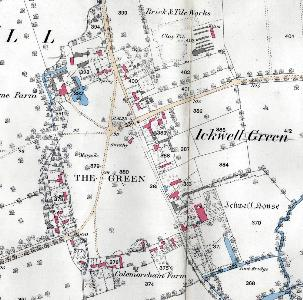 Ickwell Green in 1883