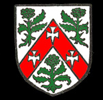 The Thornton family coat of arms