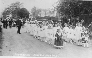 May Day procession in 1911 [Z50/84/16]