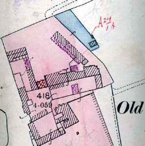 Old Rowney Farm on 1927 valuation map