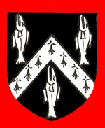 The Cater family arms