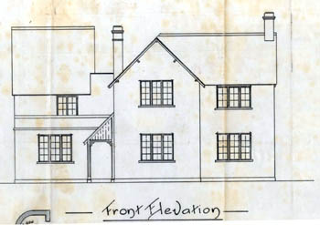 Front elevation of the Boot in 1910 [UDKP278]