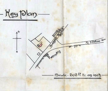 Site location plan of the Boot 1910 [UDKP278]