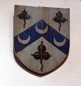 The Williamson family hatchment March 2012