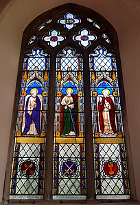The chancel east window March 2012