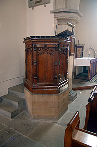 The pulpit March 2012